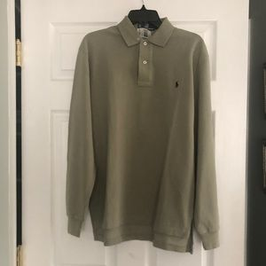 New Polo by Ralph Lauren Long Sleeve Polo Size S